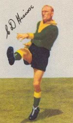 Northcote Football Club - 1951 Liston Trophy winner Cec Hiscox in his Northcote colours