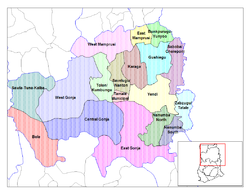 Districts of Northern region, Dagbon