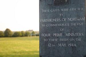 Northiam - Four Prime Ministers Plaque