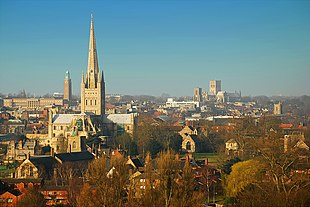 Norwich in March 2009