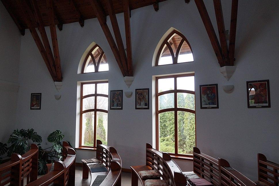 Nosza Szent Ágoston templom, beltér
