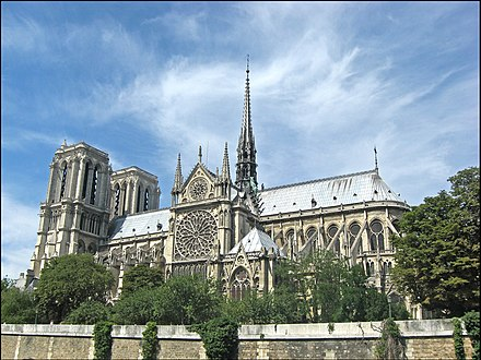 Notre Dame de Paris, France - Architecture