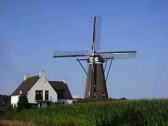 Nuenen - Nuenen, windmill: de Roosdonck