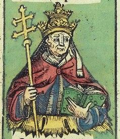 Nuremberg chronicles f 246v 1 (Nicolaus V)