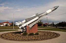 Nyírtelek, VEGA-M surface-to-air missile-2.jpg
