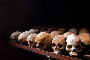Nyamata Memorial Site, skulls.