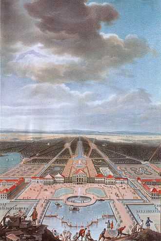 Nymphenburg Palace - Nymphenburg, ca 1730.