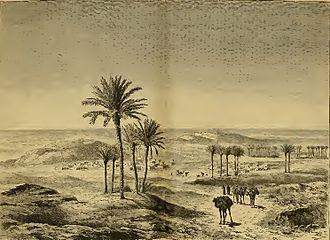 Tindouf - Tindouf in 1880.
