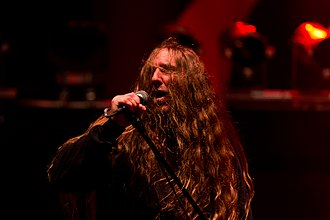 Obituary (band) - Image: Obituary Party.San Metal Open Air 2016 11