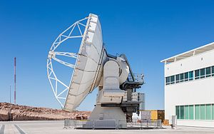 Atacama Large Millimeter Array - Finished antenna.