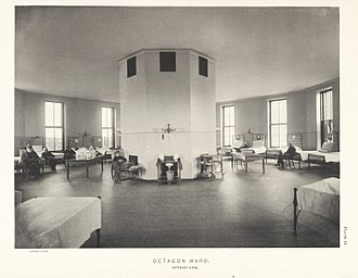 Johns Hopkins Hospital - Octagon Ward - Interior