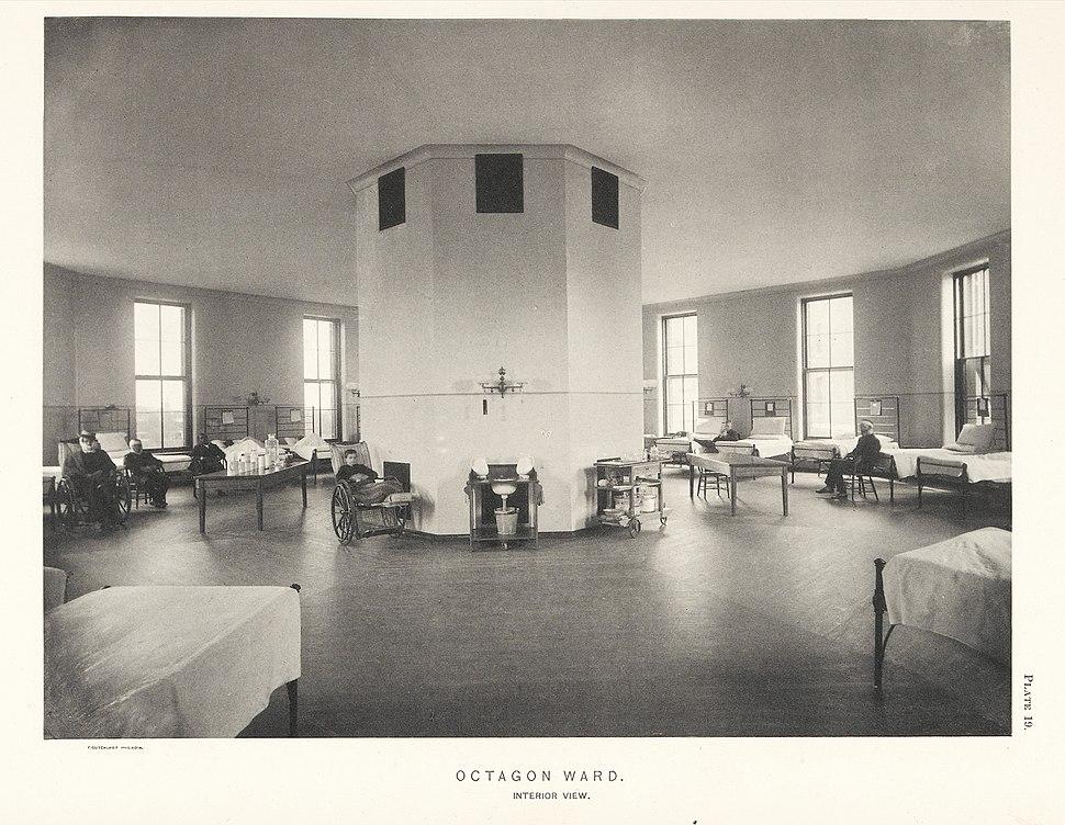 Octagon Ward at Johns Hopkins Hospital - interior Wellcome L0040936