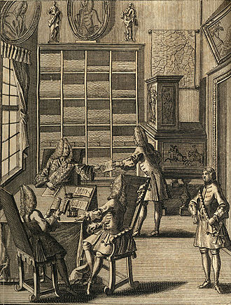 Office - An early European office