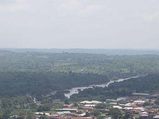 Ogun River river in Nigeria