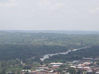 Onko - Tributary of the Ogun river