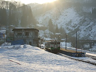 Ōshirakawa Station - Ōshirakawa Station in March 2007