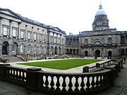 Old College quadrangle, Edinburgh