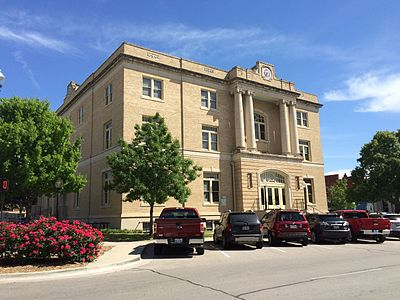 Old Collin County Courthouse in Courthouse Square, 2016. Old Collin County Courthouse.jpg