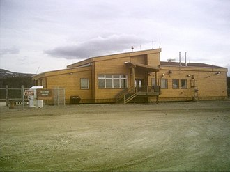 Old Crow Airport - Image: Old Crow Airport