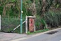 Old Postbox by the level crossing, East Farleigh - geograph.org.uk - 1265789.jpg