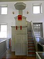 Old St Anne's pulpit.JPG