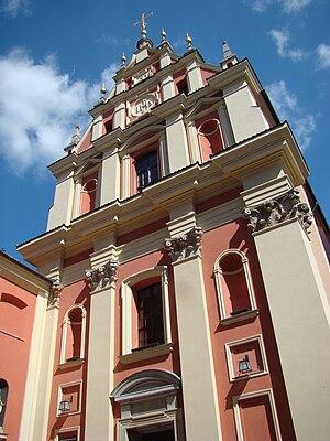 Jesuit Church, Warsaw - Jesuit Church, rebuilt after World War II.