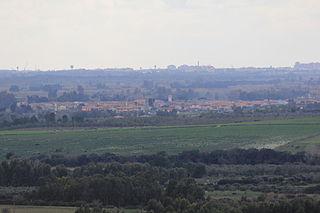 Ollastra Comune in Sardinia, Italy