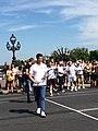 Olympic Days Paris June 2017 - Tony Estanguet playing tennis 01.jpg