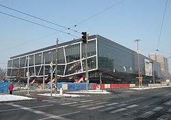 Samsung Arena during reconstruction