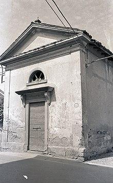 Oratorio della Madonna del Rosario, in Cascina del Bruno, secondo dopoguerra