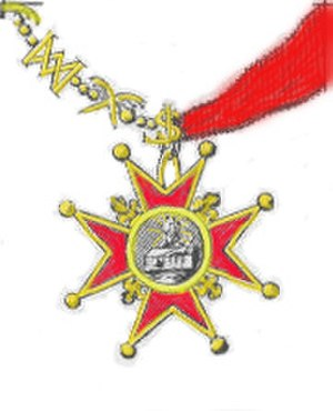 Royal Military and Hospitaller Order of Our Lady of Mount Carmel and Saint Lazarus of Jerusalem united - The collar of the Grand Master.