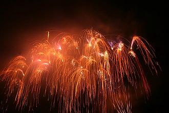 Oregon Ridge Park - Image: Oregon Ridge July Fireworks