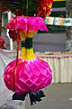Origami flower during IMLD in Chittagong City Corporation Book Fair (01).jpg