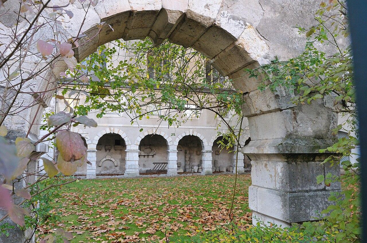 File orl ans jardin et ancien couvent des minimes wikimedia commons - Le couvent des minimes ...