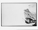 Ortler Spitz from Summit of Stelvio Pass (from Switzerland 1869 Sketchbook) MET 219136.jpg