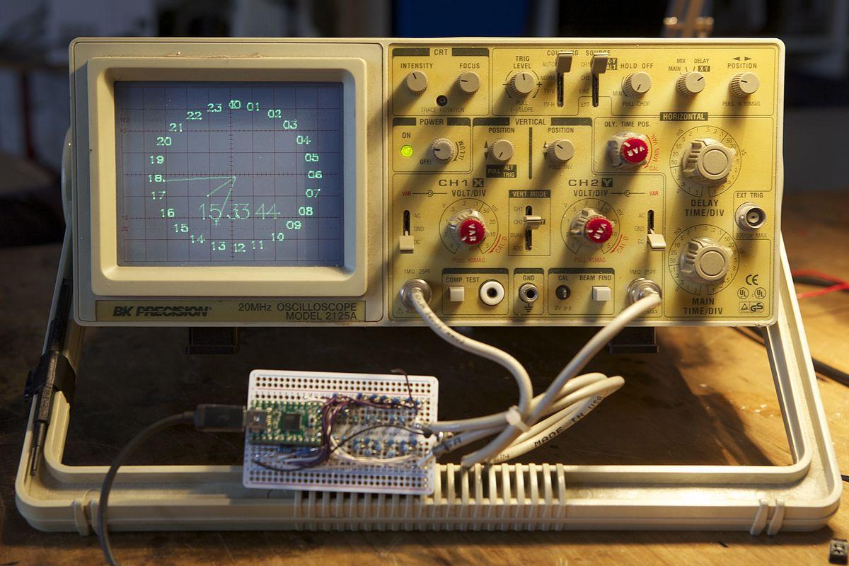 Old Oscilloscope Screen : Vector monitor wikipedia