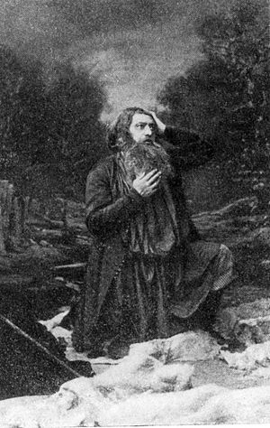A Life for the Tsar - Osip Petrov as Ivan Susanin in the premiere