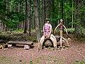 Ostercappeln - Holzfiguren im Wald -BT- 01.jpg