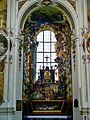 Osterhofen Basilika St. Margareta Innen Seitenaltar 4.JPG