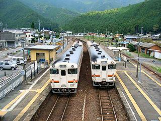 Ōuchiyama Station Railway station in Taiki, Mie Prefecture, Japan
