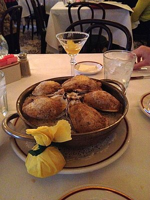 Arnaud's - Oysters Bienville at Arnaud's Jazz Bistro