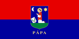 Pápa official flag.png