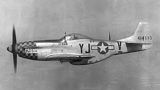 116th Operations Group - P-51D (YJ-V) of the 351st Fighter Squadron