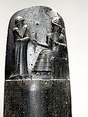 P1050556 Louvre code d'Hammurabi bas-relief rwk