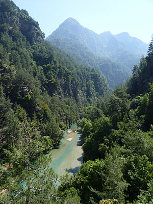 Adonis - Abraham River (Lebanon), one of the claimed sites of Adonis