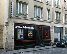 Description de l'image P1070923 Paris XI passage de la Main d'Or théâtre de la Main d'Or rwk.JPG.