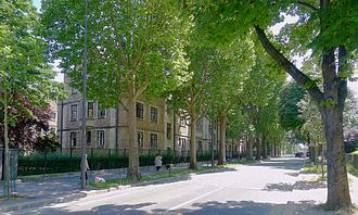 David David-Weill - Avenue David-Weill, Paris.