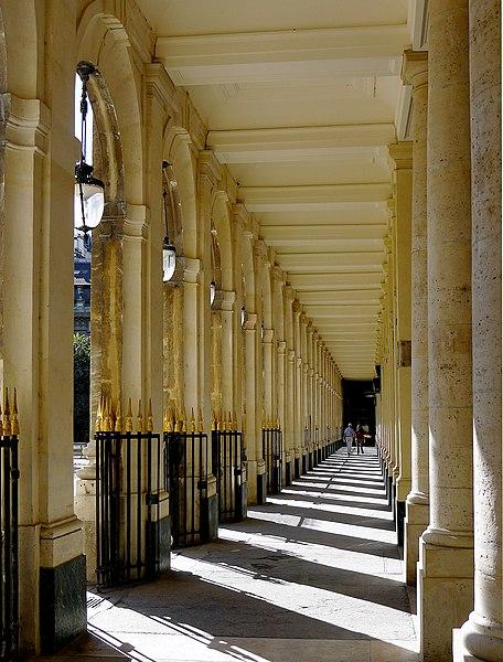 Fichier:P1120934 Paris Ier Palais-Royal galerie de Beaujolais rwk.JPG