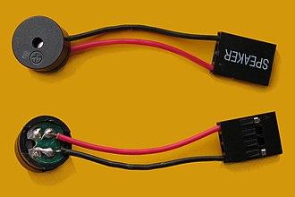 PC speaker - Image: PC Speaker IMG 9311 9312