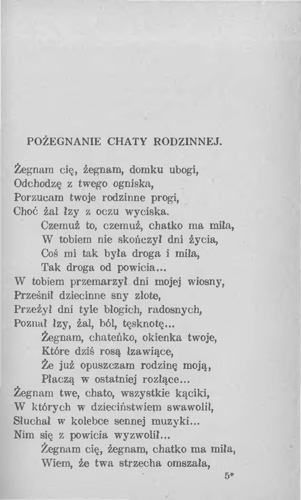 Stronapl Antoni Kucharczyk Wiersze Piosnki Z Naszej
